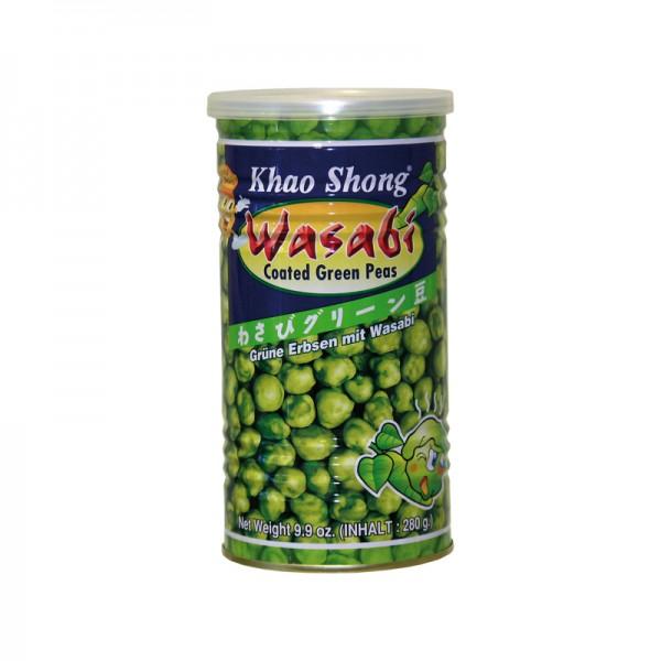 Grüne Erbsen mit Wasabi