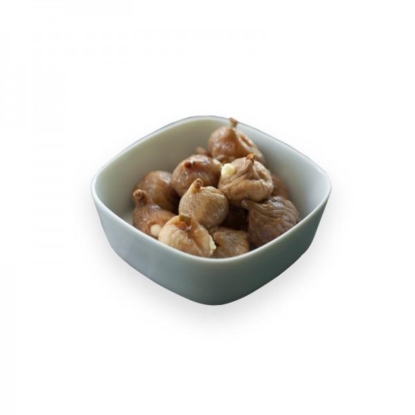 Feigen gefüllt mit Walnuss-Frischkäse in Pflanzenöl