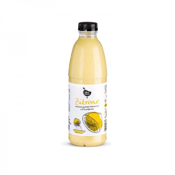 Zitronensaft, frisch gepresst