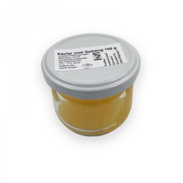 Rogen v.Bachsaibling Glas a 100 g pasteurisiert