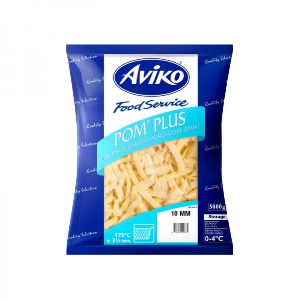 Pommes Frites 10mm frisch 2x5k g aus NL Aviko