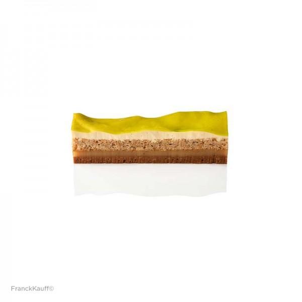 TK Haselnussgebäck mit Limetten-Vanillemousse, Caffet