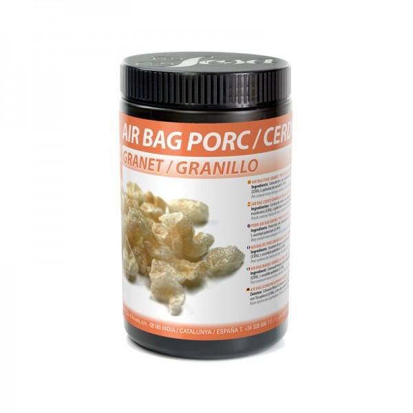 Air bag porc granet - getrocknete und granulierte Schweineschwarte