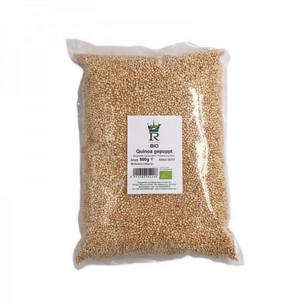 Quinoa, gepufft