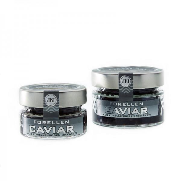 "Forellen Caviar ""schwarz"""