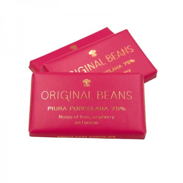 """BIO Minitafeln """"Piura"""" 75%, Original Beans"""