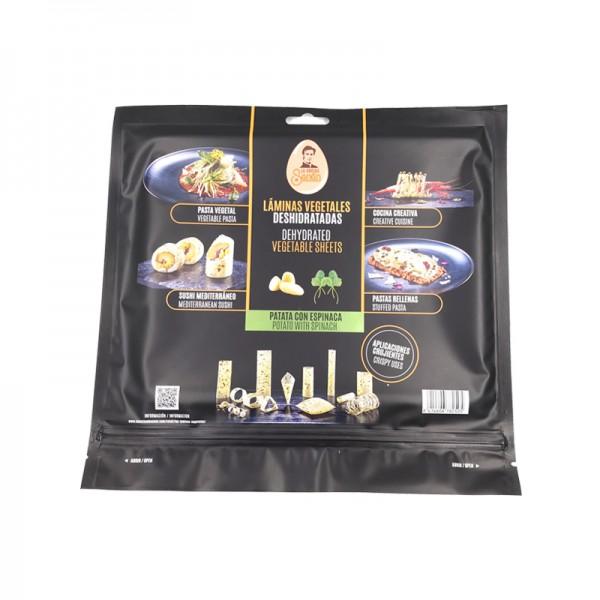 Vegetarisches Esspapier - Spinat & Kartoffel