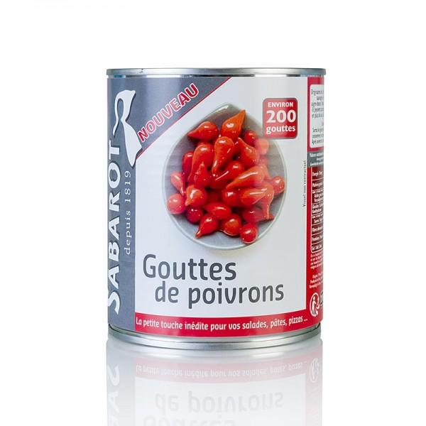 Paprikatropfen Sweet Drops 325g Rot 41130