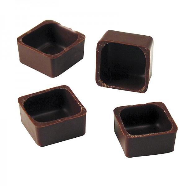 Karreeschalen, Zartbitterschokolade