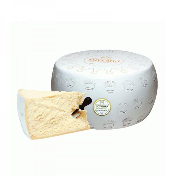 """Parmesan """"Sovrano di Bufala"""" mit Büffelmilch, 39% Fett i. Tr."""