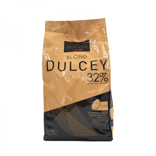 """Kuvertüre """"Dulcey"""" 32% weiß, Valrhona"""