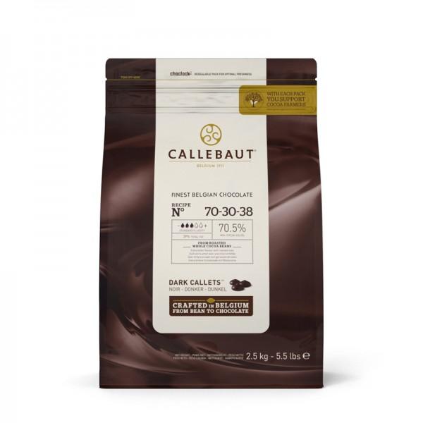 """Kuvertüre """"N° 70-30-38"""" dunkel, Barry Callebaut"""