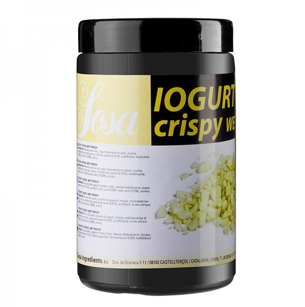 Joghurt-Crispy wetproof mit Kakakobutter
