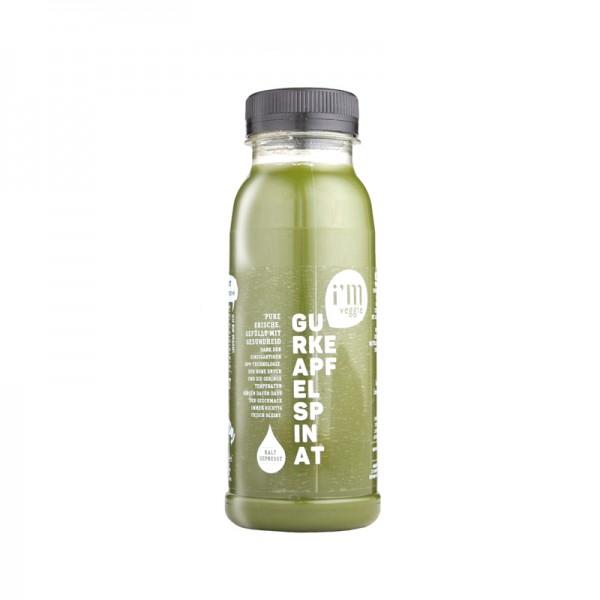 Gemüsesaft Gurke-Apfel-Spinat
