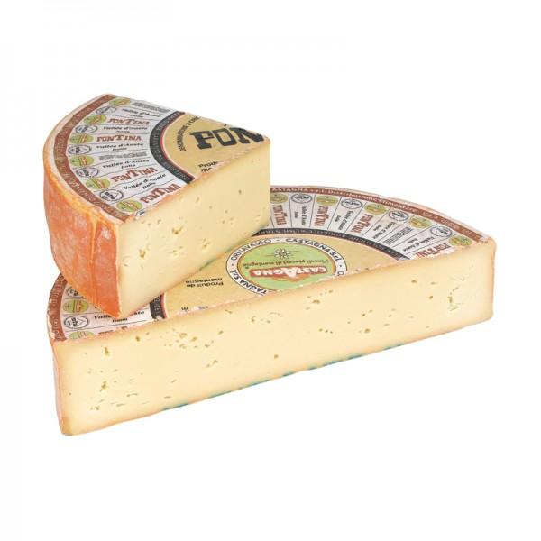 """Fontina """"Aosta"""", Viertel, 45% Fett i. Tr."""