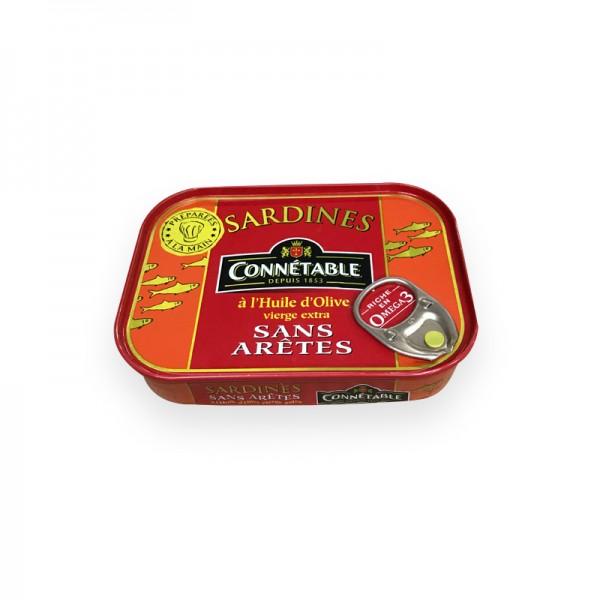 Sardinen in Olivenöl ohne Gräten