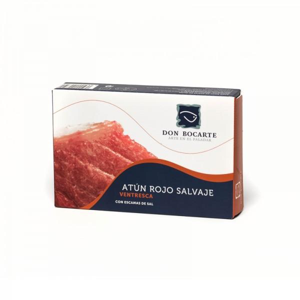 Bauchfleisch vom Bluefin Thunfisch in Olivenöl