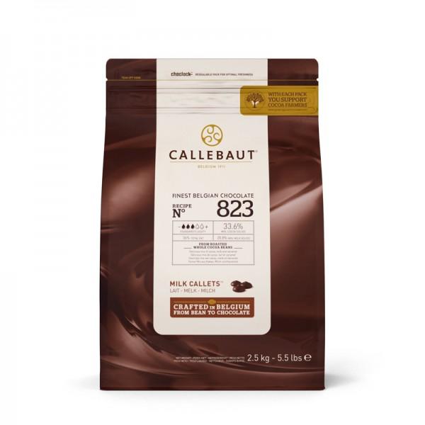 Kuvertüre N° 823 Vollmilch, Barry Callebaut