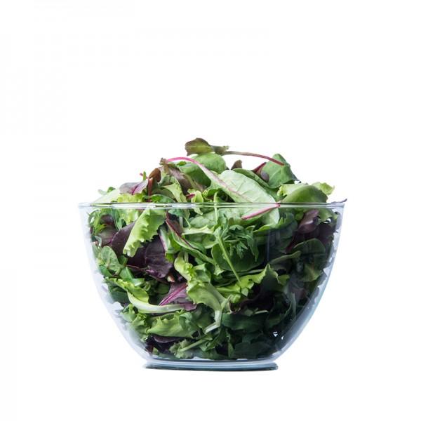 Edelmix-Salat, gewaschen
