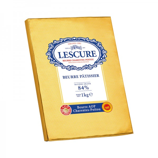 Patisserie Butter AOP, 84% Fett