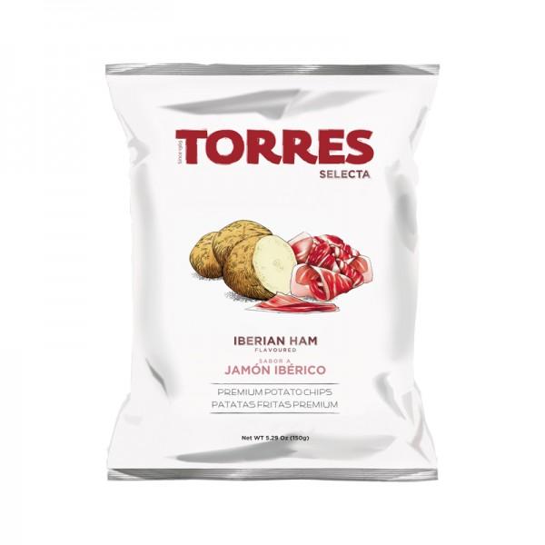 Chips Iber. Schinkenaroma 15x150gKa ES Torres