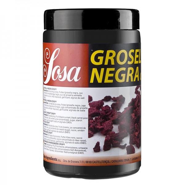 Schwarze Johannisbeer Crispy gefriergetrocknet