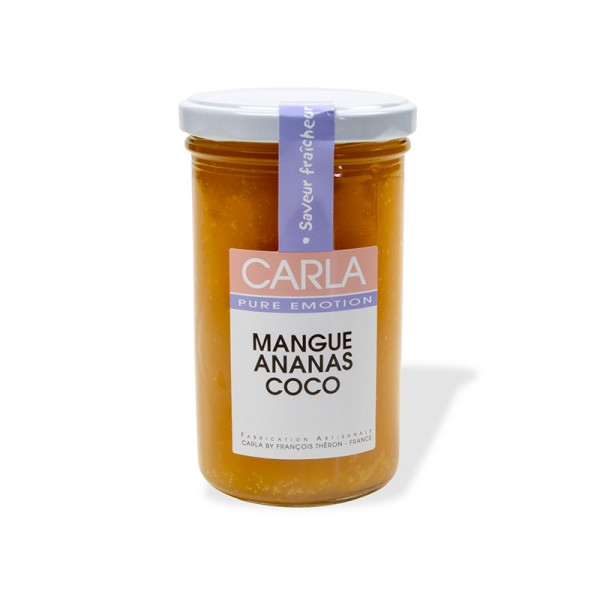 Mango-Ananas-Kokos Konfitüre