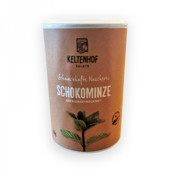 Schokominze, gefriergetrocknet, Keltenhof