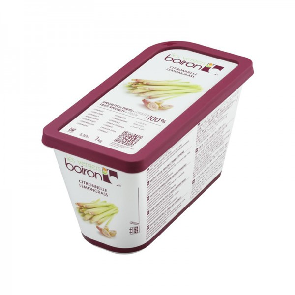 Zitronengras-Ananas-Püree, ungezuckert, TK