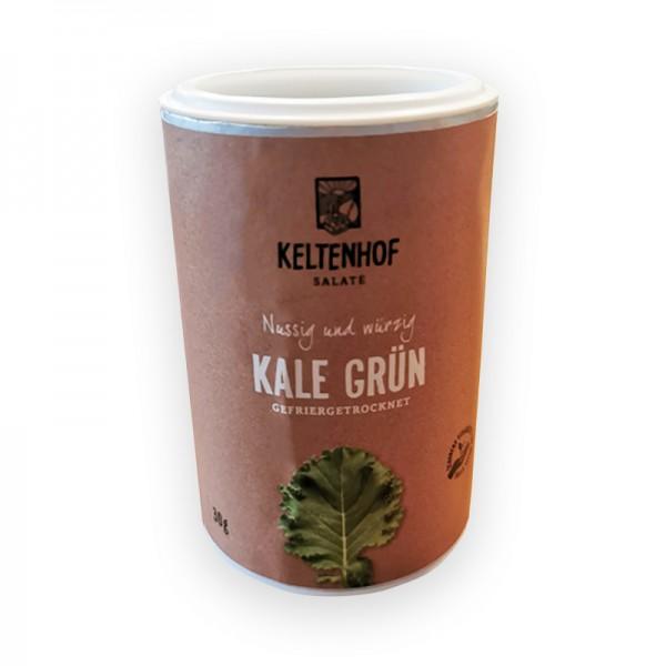Kale, gefriergetrocknet und geschnitten, Keltenhof