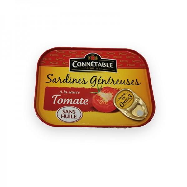 Sardinen in Tomatencreme ohne Öl