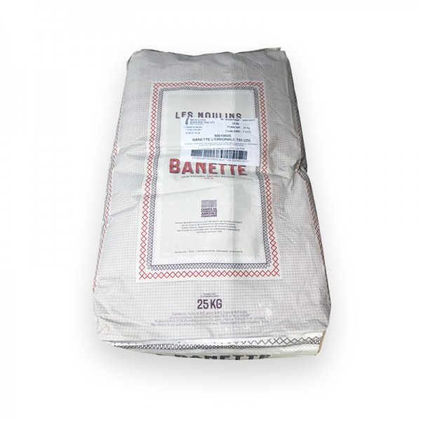 Mehl, Typ 65, für Baguette