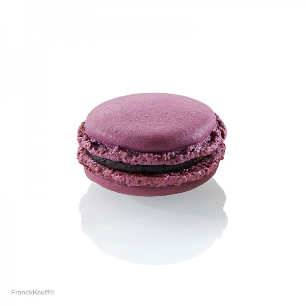 TK Macarons mit Cassis-Veilchen-Füllung, Caffet