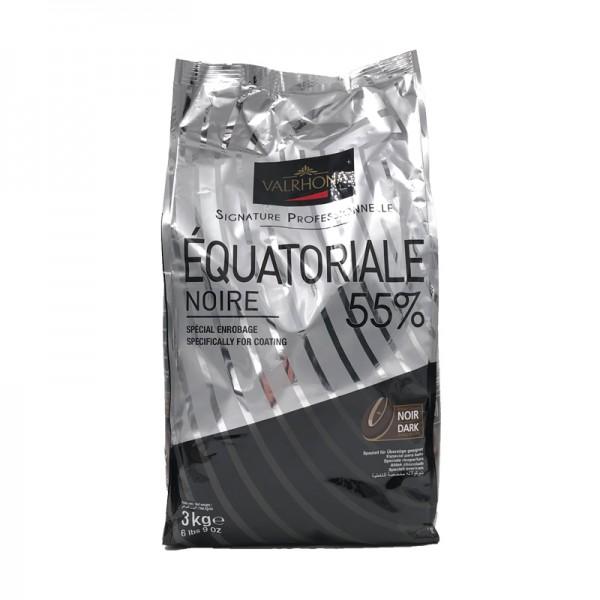"Kuvertüre ""Équatoriale"" 55% dunkel, Valrhona"