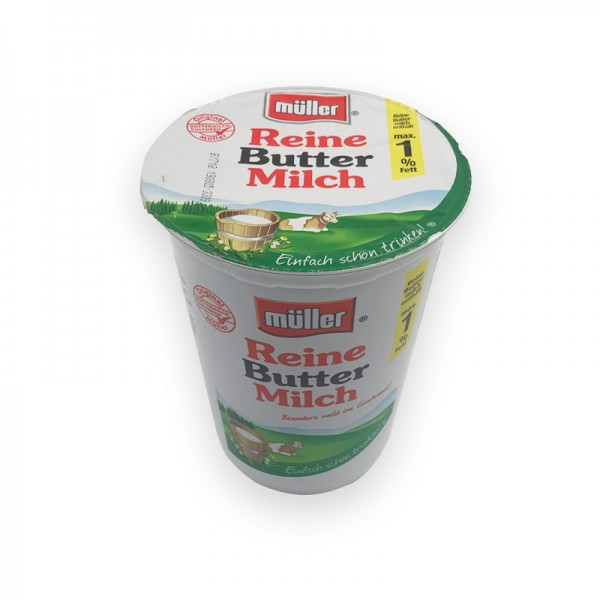 Buttermilch, 1% Fett
