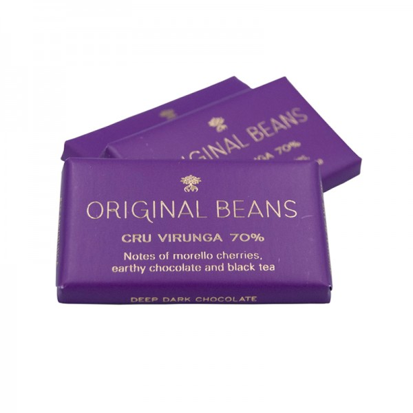 "BIO Minitafeln"" Virunga"" 70%, Original Beans"