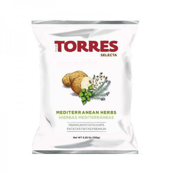 Kartoffelchips Mediterrane Kräuter