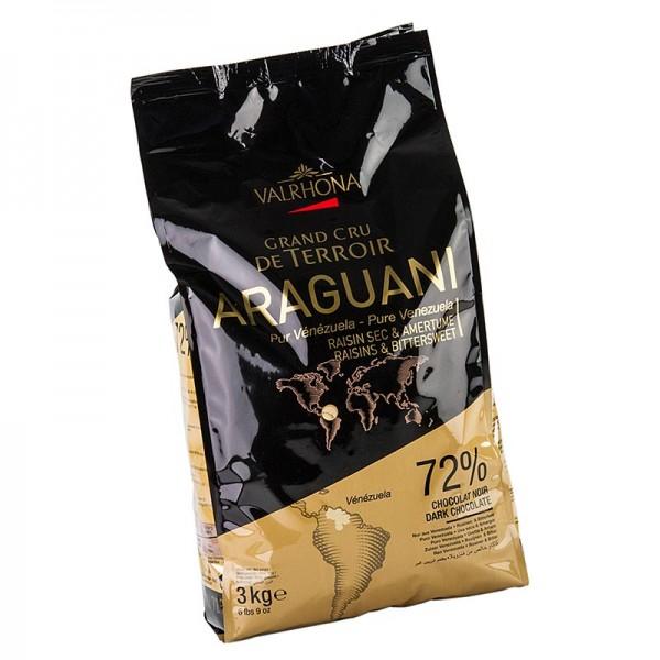 Kuvertüre Araguani 72% dunkel, Valrhona