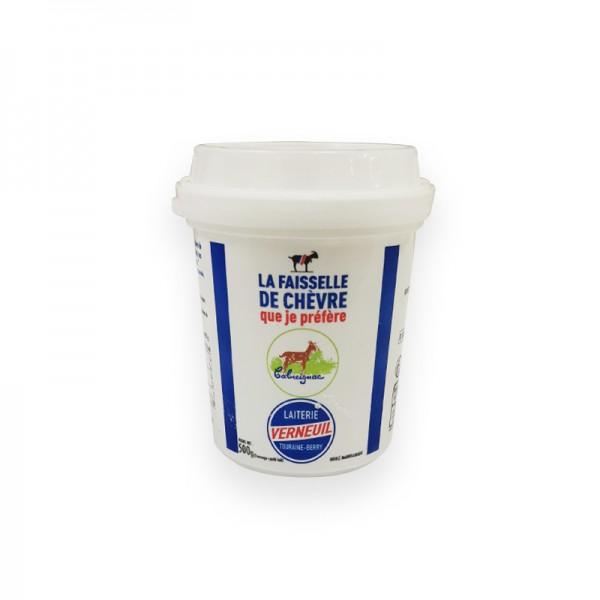 Ziegenfrischkäse 50%F.i.Tr 500gStk FR Faisselle