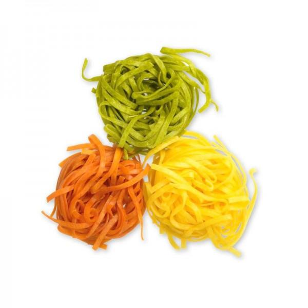 """Tagliarini """"tricolore"""", bunt, 4 mm"""