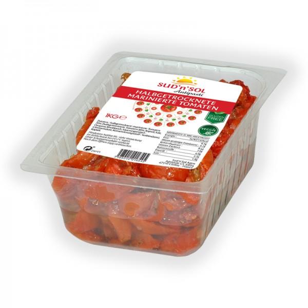 Tomaten halbgetrocknet und mariniert