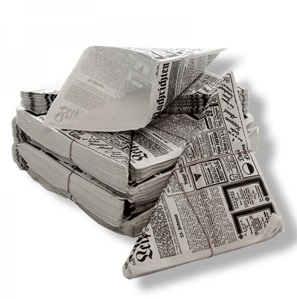 Fish&Chips Tüten mit Zeitungsdruckpapier