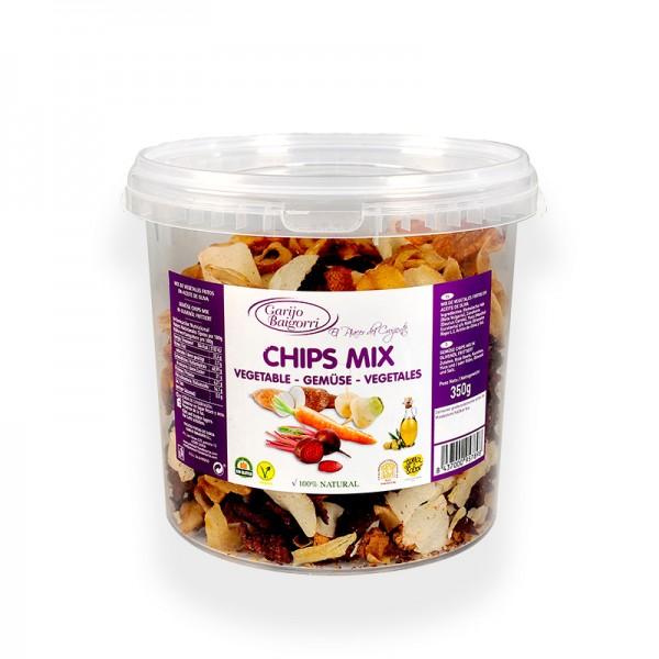 Gemüse-Chips mit Olivenöl