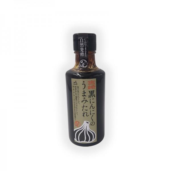 Umami Sauce mit schwarzem Knoblauch