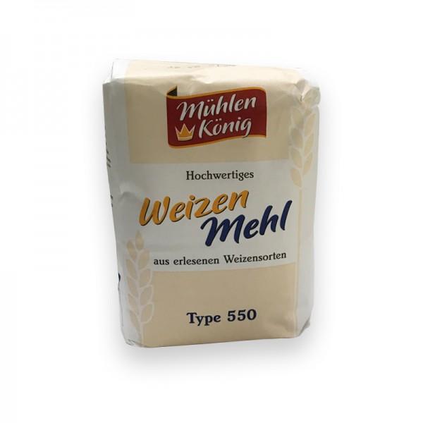 Weizenmehl, Type 550
