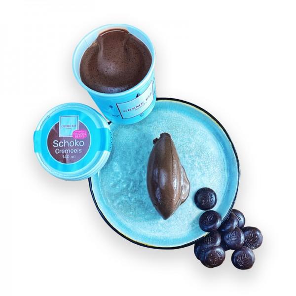 Schokolade Cremeeis