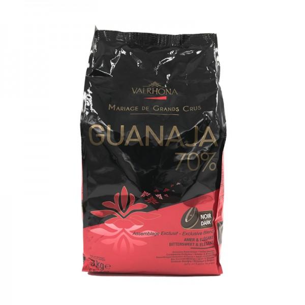 """Kuvertüre """"Guanaja"""" 70% dunkel, Valrhona"""