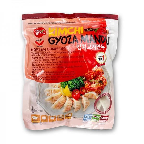Kimchi Gyoza Mandu - Teigtaschen mit Chinakohl, TK