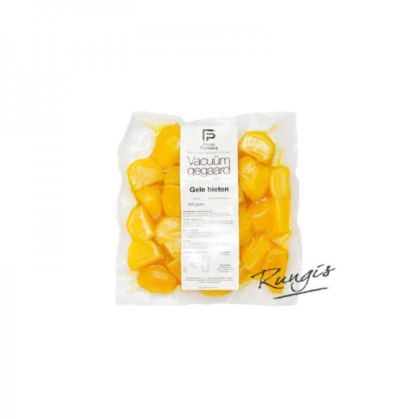 gelbe Beete, sous-vide gegart