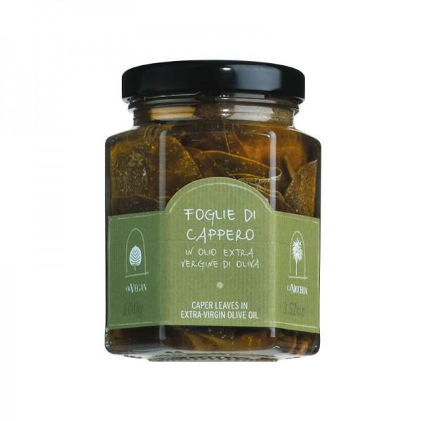 Kapernblätter in Olivenöl